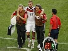 Christoph Kramer (m.) hatte einen Blackout