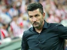 Panathinaikos-Trainer Marinos Ouzounidis hat derzeit keine Spieler mehr beim Training