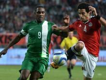 Odion Ighalo (l.) und Nigeria verpassen den Afrika-Cup