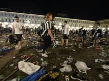 Eine Frau wurde ist nach der Massenpanik in Turin gestorben