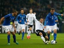 Ein hart umkämpftes Duell zwischen Italien und Deutschland endete Remis