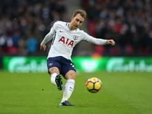 Traf zweimal für die Spurs: Christian Eriksen