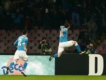 Napoli ist neuer Tabellenführer in Italien
