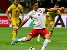 Lewandowski schießt Polen zum Erfolg gegen Rumänien