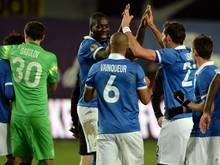 Dinamo Moskau siegt in in Eindhoven