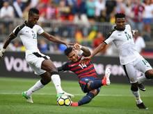 Die Nationalmannschaft Ghanas scheiterte in der WM-Quali