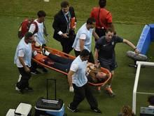 Gary Lewin hatte sich am Sprunggelenk verletzt
