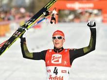 Eric Frenzel ist vor dem Heim-Weltcup voller Vorfreude