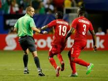 Nach dem umstrittenen Halbfinale bekamen die Spieler von Panama eine Siegprämie ausgezahlt