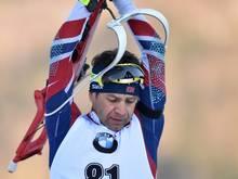 Björndalen wurde als Coach für Weißrussland akkreditiert