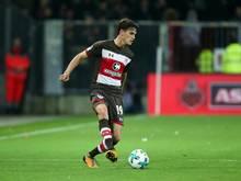Luca Zander bringt St. Pauli den Sieg gegen Mainz
