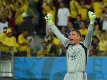 Mondragon schreibt WM-Geschichte - ältester Spieler