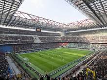 Austragungsort des CL-Finales: Giuseppe-Meazza-Stadion