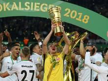 Eintracht ist nach dem Pokalsieg in Frankfurt gelandet