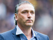 Go Ahead Eagles-trainer Robert Maaskant