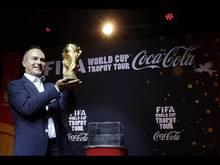 Grande successo per il Fifa World cup Trophy tour Coca-Cola