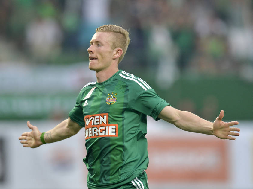 Florian Kainz traf zum 1:0 für Rapid Wien