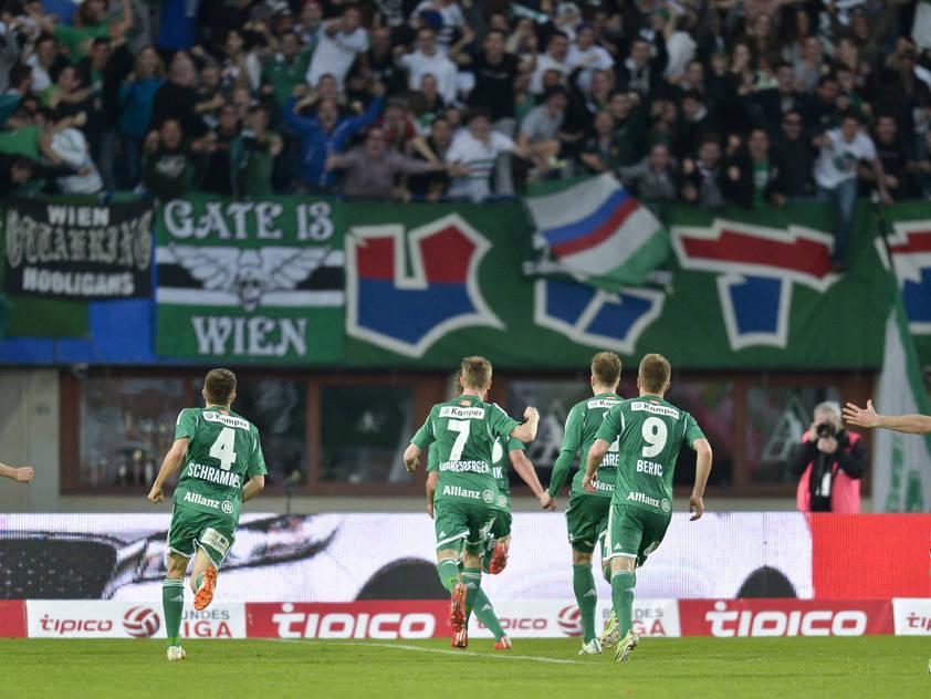 Im Schnitt kamen 15.000 Zuschauer ins Ernst Happel Stadion