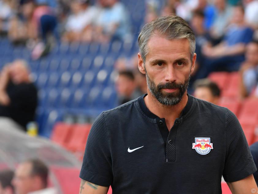 Marco Rose machte mit Salzburg bisher vieles richtig