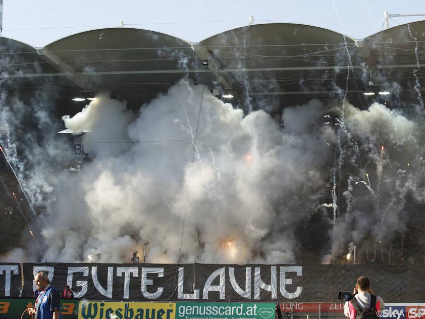 Sturm Graz einer der Fan-Hot-Spots in Österreich