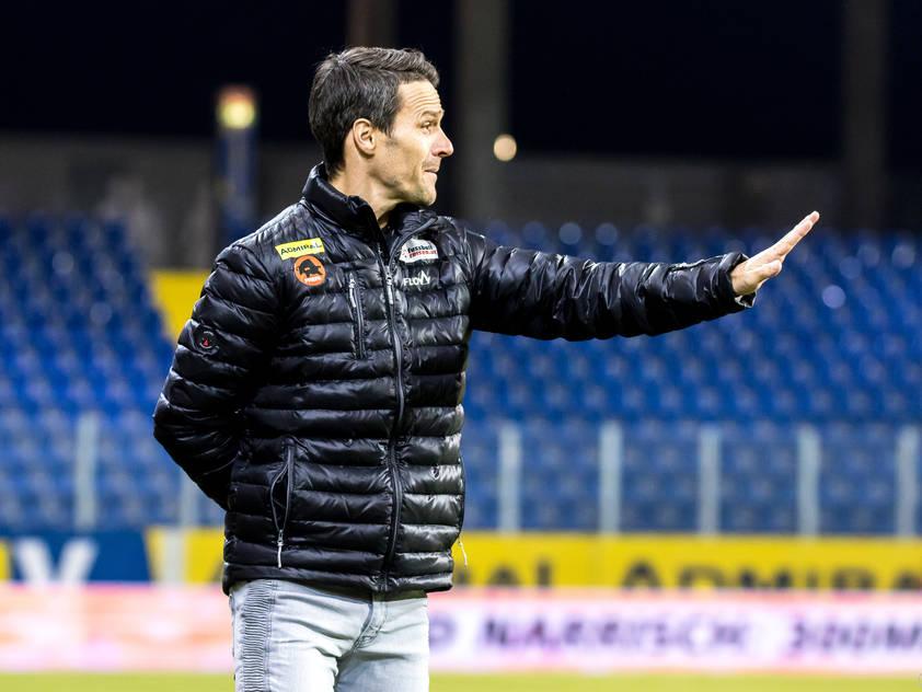St. Pölten-Trainer Oliver Lederer steht unter Zugzwang