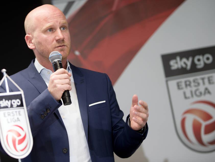 Bundesliga-Präsident Christian Ebenbauer hofft auf positive Wendung