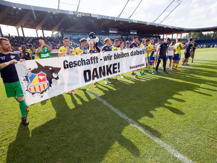 Das Relegationsrückspiel in St. Pölten wurde mit 1:1 beglaubigt