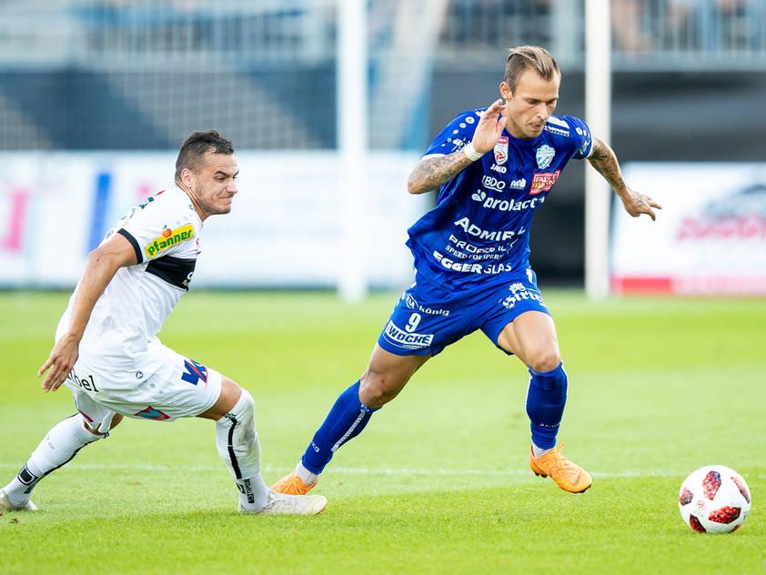Hartberg drehte das Spiel in der Schlussphase