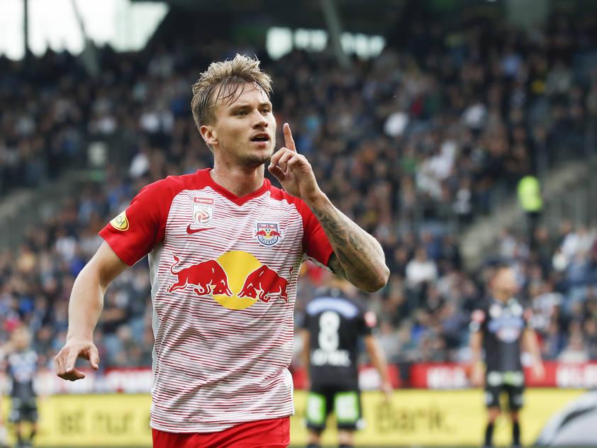 Fredrik Gulbrandsen brachte Salzburg in Graz in Führung