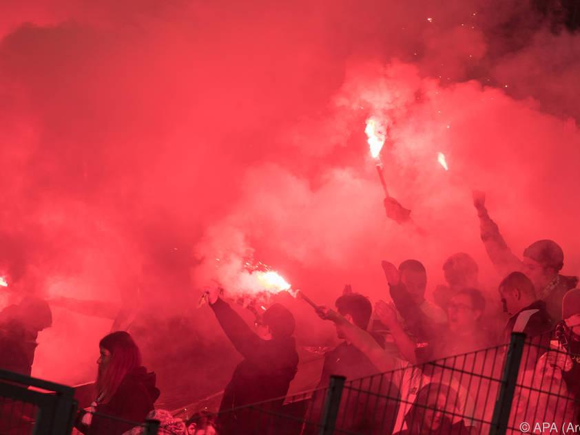 Freude bei den Altacher Fans