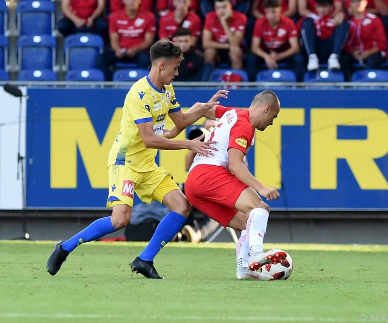 Salzburg könnte gegen St. Pölten einige Spieler schonen