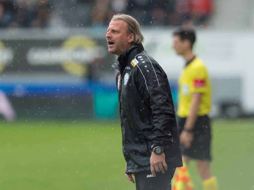 Hartberg-Trainer Markus Schopp will noch einmal alles geben