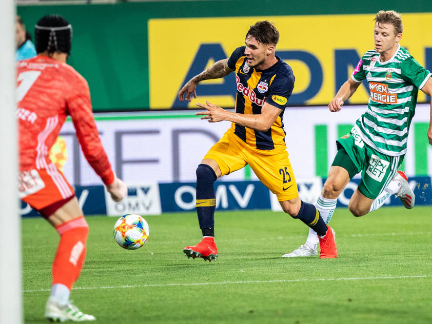 Gelungenes Liga-Debüt für Red Bull Salzburg