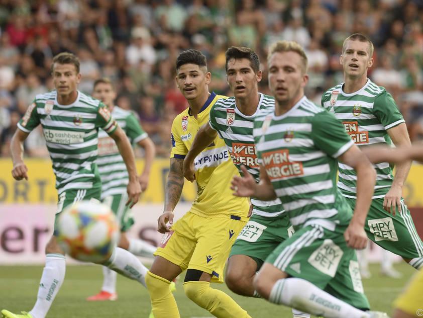 Rapid spielte 2:2 gegen St. Pölten