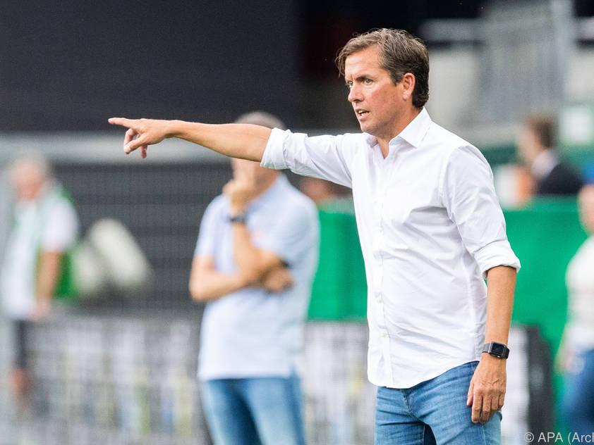 Trainer Alex Pastoor möchte sich am Sonntag Punkte sichern