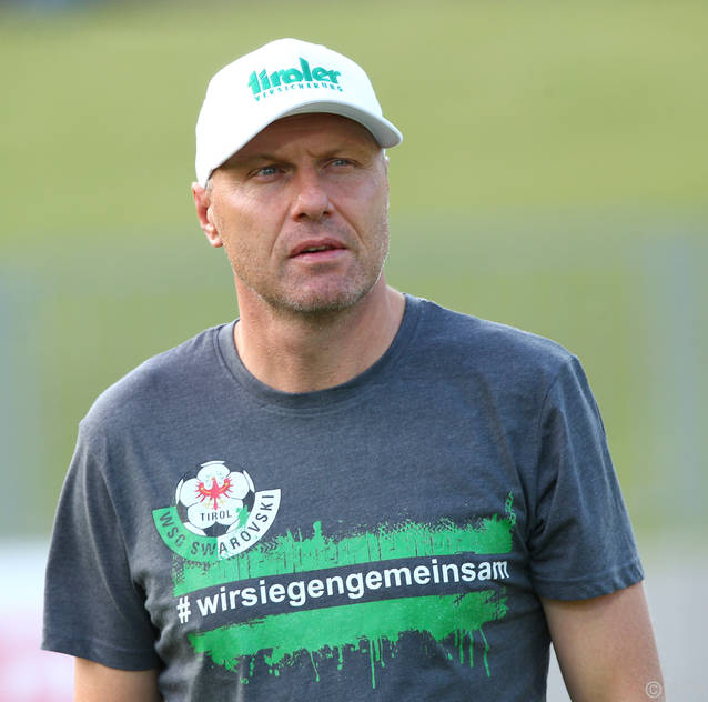 Wattens-Trainer Thomas Silberberger