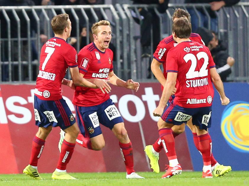 Rapid gelang in Mattersburg ein später Siegestreffer