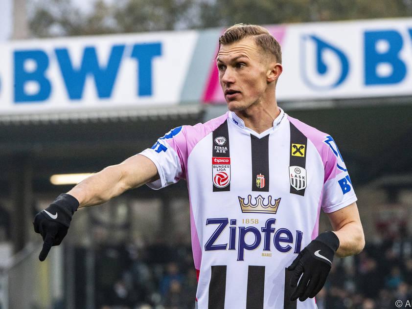 LASK-Stürmer Thomas Goiginger beleidigte den Schiedsrichter