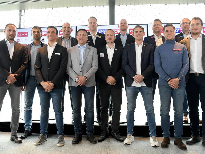 Die Sportdirektoren der Bundesligavereine erwarten ein spannendes Frühjahr