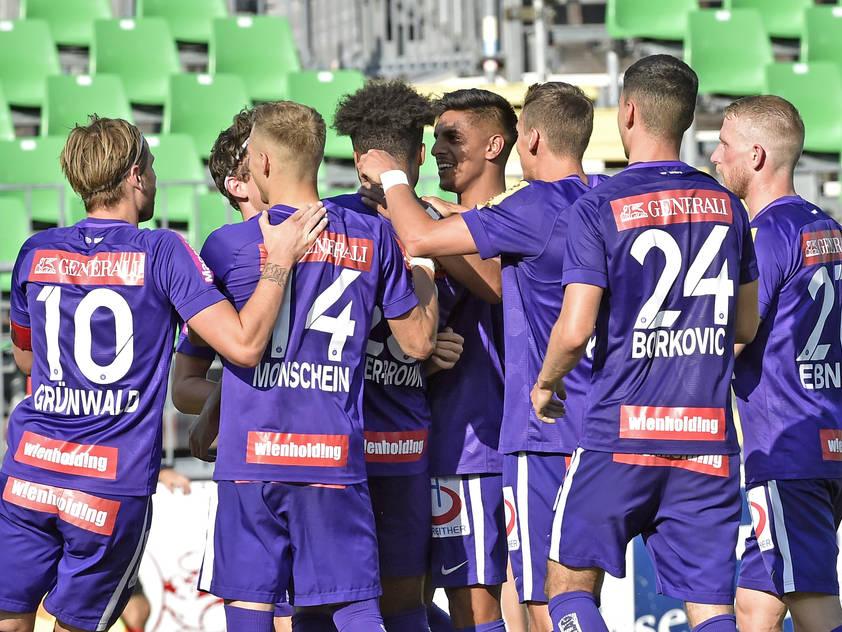 Die Austria will zurück in die Siegerspur