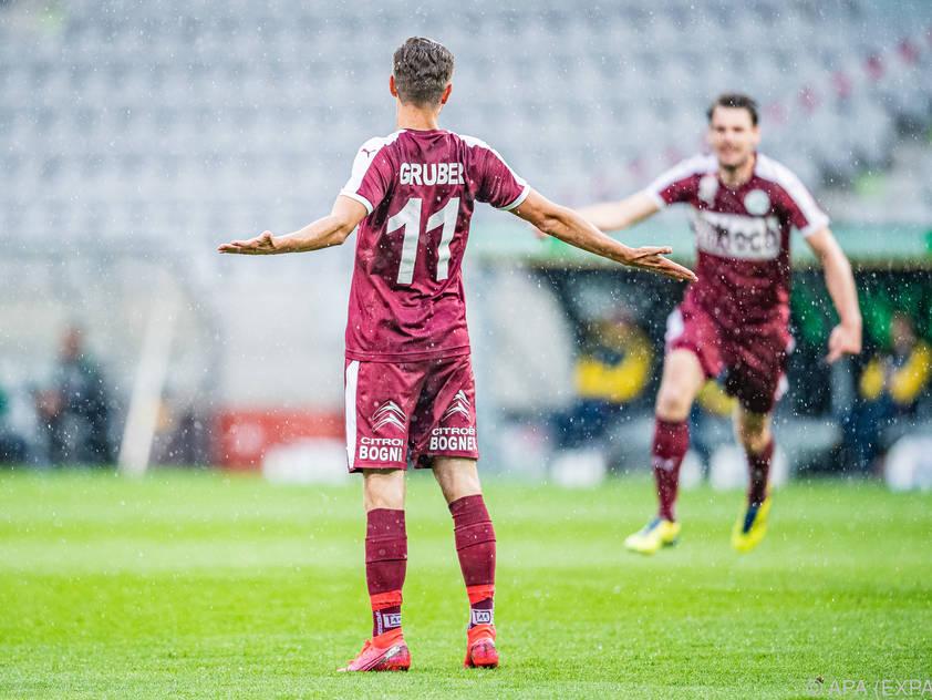 Andreas Gruber unterschrieb bis 2023 in Linz