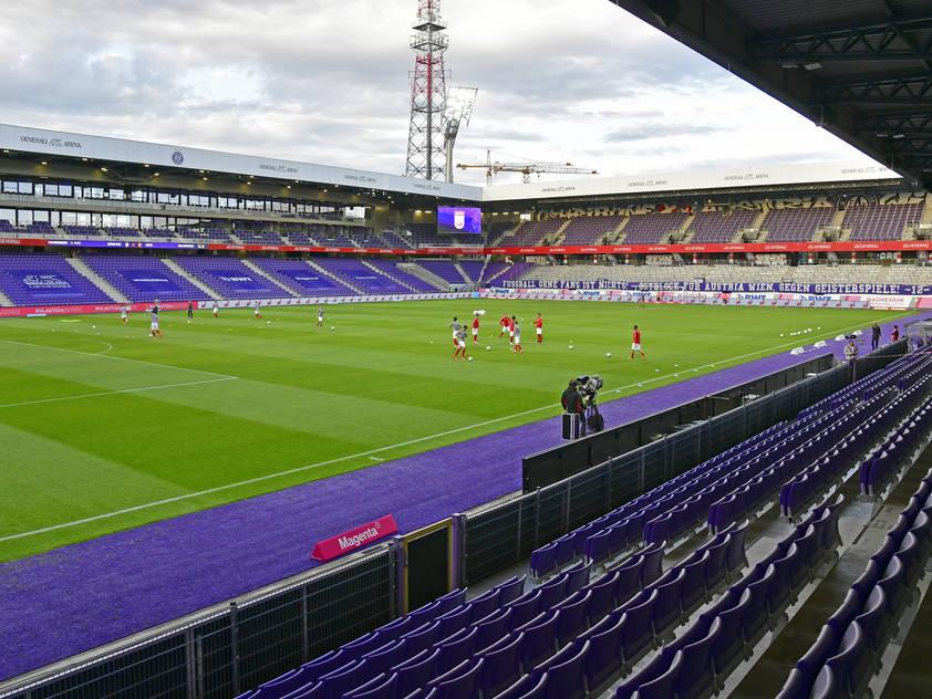 Ziel der Austria ist die Vollauslastung des Stadions