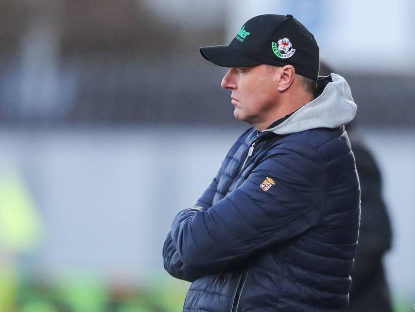 WSG-Trainer Thomas Silberberger lobt die Entwicklung der Hartberger