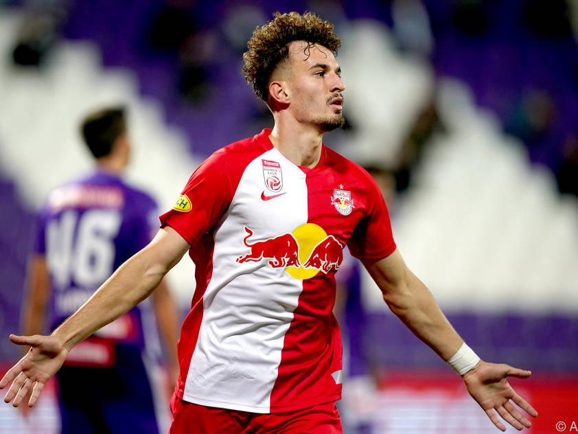 Mërgim Berishaerzielte in Wien das 1:0