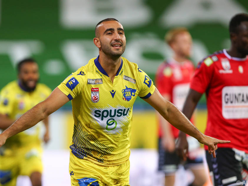Dor Hugi jubelt nach seinem Treffer zum 1:0