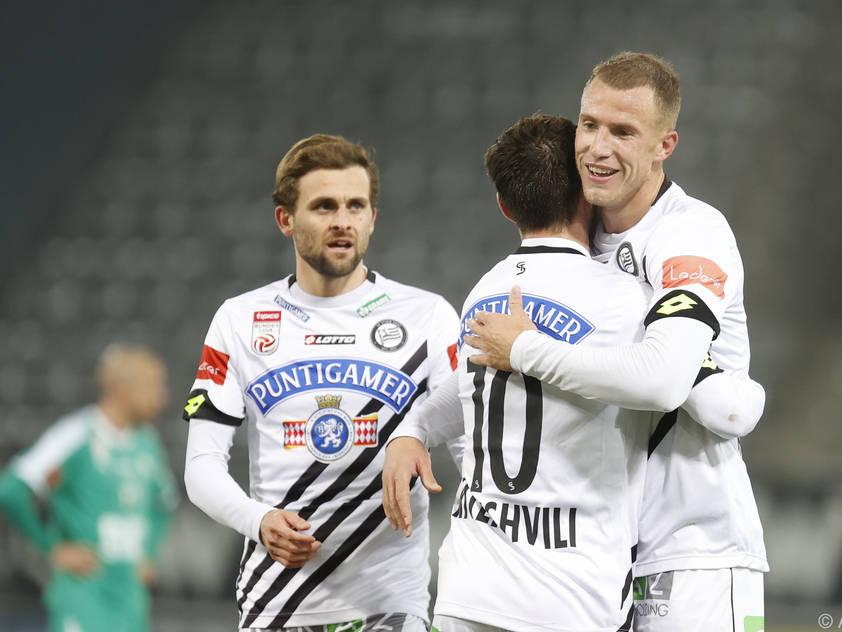 Die Grazer etablieren sich nach dem Sieg in der Spitzengruppe der Liga