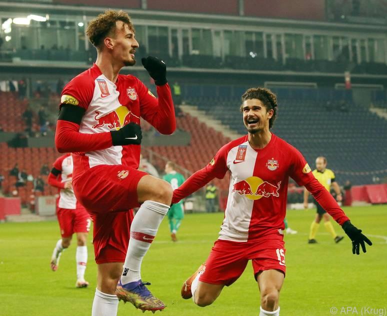 Die Salzburger feierten einen souveränen Erfolg gegen Rapid