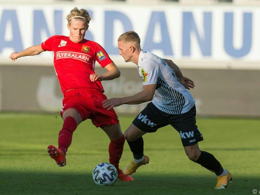 Hjulmand (links) wechselt von Admira zu US Lecce
