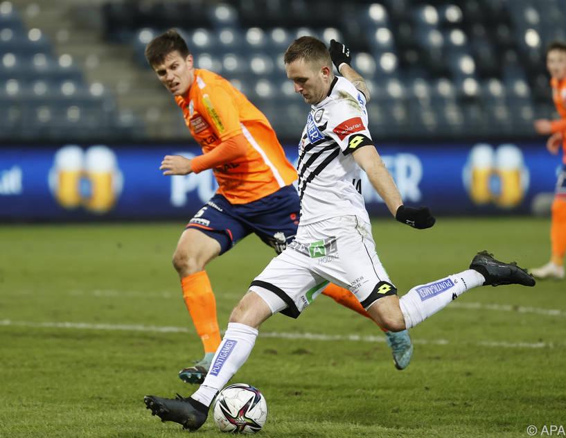 Jantscher erzielte gegen Hartberg zweites Sturm-Tor