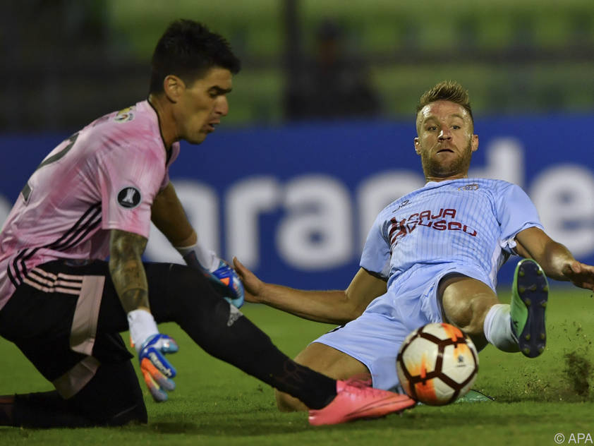 Danilo Carando (r.) in Aktion bei der Copa Libertadores 2019